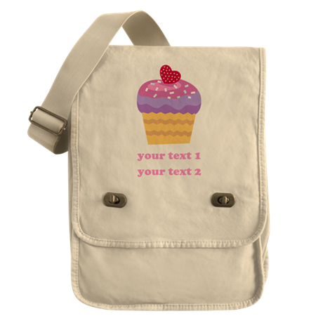 PERSONALIZE Fruit Cupcake Field Bag