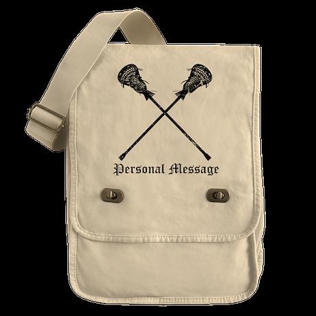 Personalized Lacrosse Sticks Field Bag