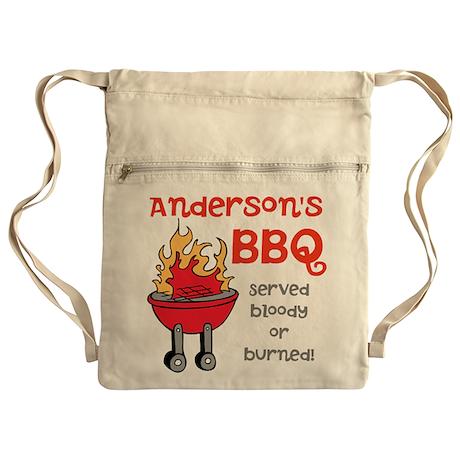 Personalized BBQ Cinch Sack