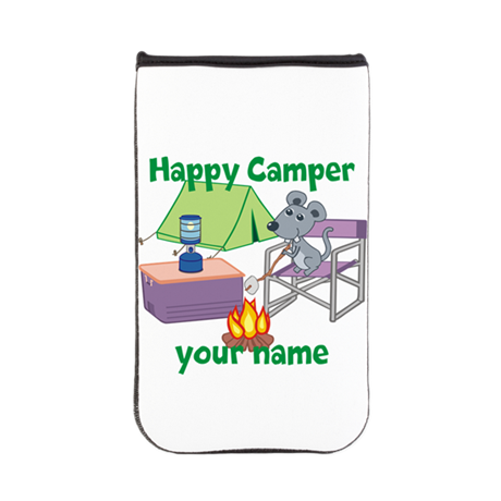 Custom Happy Camper Mouse Kindle Sleeve