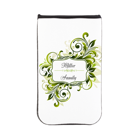 Custom Floral Swirl Kindle Sleeve
