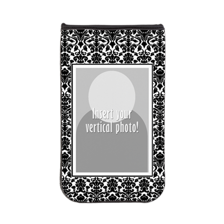Add a Photo Damask Border Kindle Sleeve