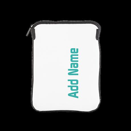 Add Name Simple iPad Sleeve