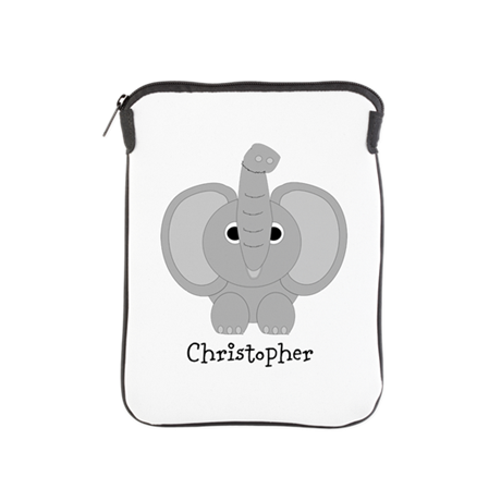 Personalized Elephant Design iPad Sleeve