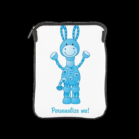 Personalize me! Blue Donkey iPad Sleeve