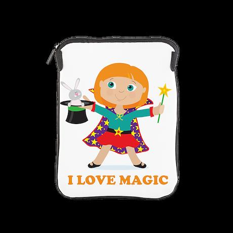 Girl Magician iPad Sleeve