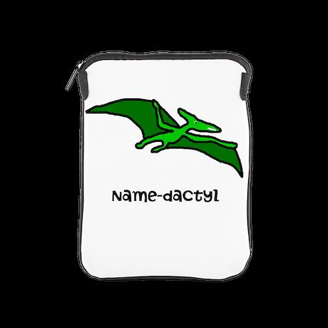 Name your own Pterodactyl! iPad Sleeve