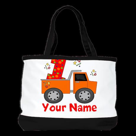1st Birthday Dump Truck Shoulder Bag