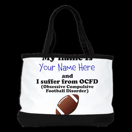 Custom Obsessive Compulsive Football Disorder Shou