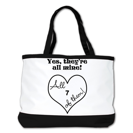 YES, THEYRE ALL MINE - CUSTOMIZABLE Shoulder Bag