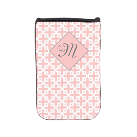 Pale Pink Cross Pattern Nook Cover