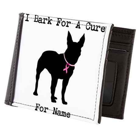 Bull Terrier Personalizable Bark For A Cure Mens W