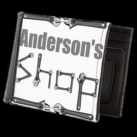 Personalized Shop Mens Wallet