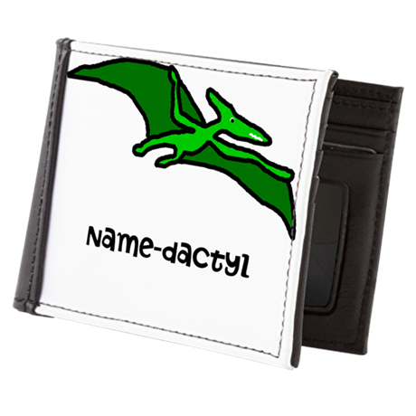 Name your own Pterodactyl! Mens Wallet