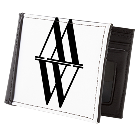 Initial Reflection Monogram Mens Wallet