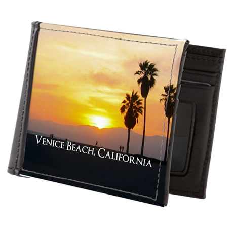 Personalized Venice Beach California S Mens Wallet