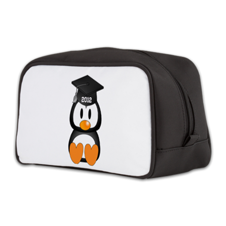 Custom Graduation Penguin Toiletry Bag