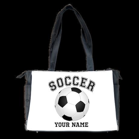 personalized name soccer diaper bag by inkshoppe1. Black Bedroom Furniture Sets. Home Design Ideas