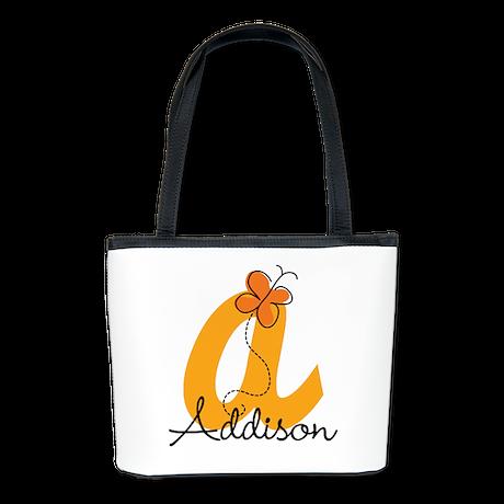 Custom A Monogram Bucket Bag