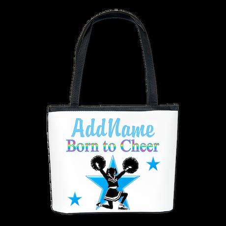#1 CHEERLEADER Bucket Bag