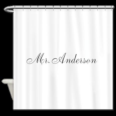 half of mr and mrs set mr shower curtain by admin cp49789583. Black Bedroom Furniture Sets. Home Design Ideas