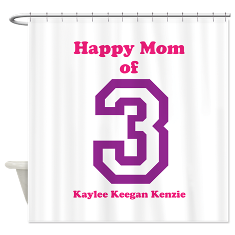 Personalized Mother Shower Curtain