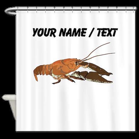 Custom Crawfish Shower Curtain
