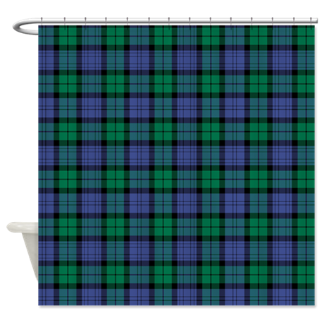 CAMPBELL TARTAN Shower Curtain