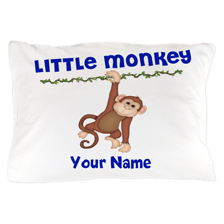 Little Monkey Boys Pillow Case