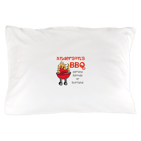 Personalized BBQ Pillow Case