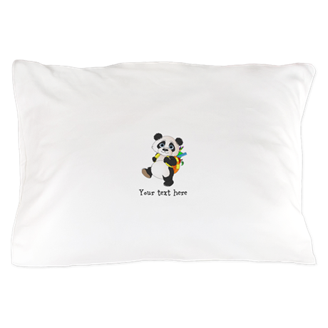 Personalize It - Panda Bear backpack Pillow Case