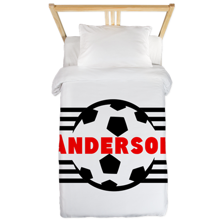 Personalized Soccer Twin Duvet