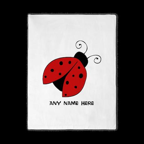Ladybug Twin Duvet