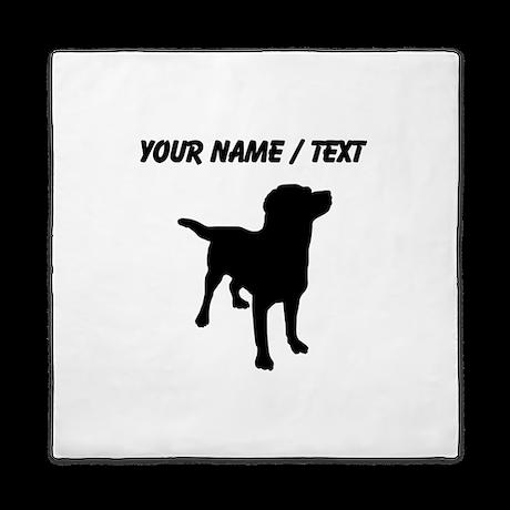 Custom Labrador Retriever Queen Duvet