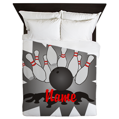 Personalized Bowling Queen Duvet