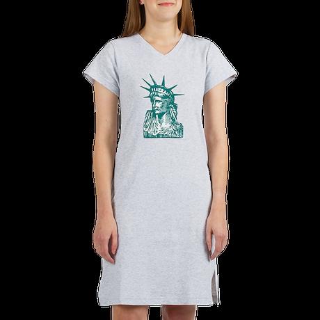 Statue of Liberty Women's Nightshirt