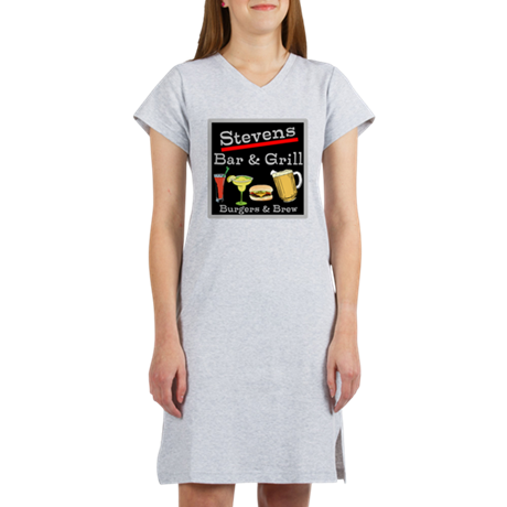 Personalized Bar and Grill Women's Nightshirt