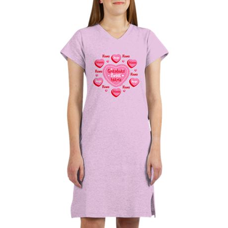 Grandma's Sweethearts Personalized Women's Nightsh