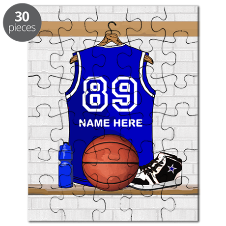 Personalized Basketball Jerse Puzzle