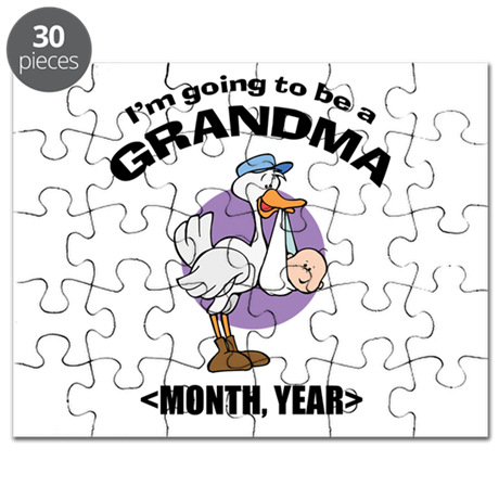 Grandma To Be Personalized Puzzle