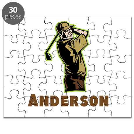 Personalized Golf Puzzle