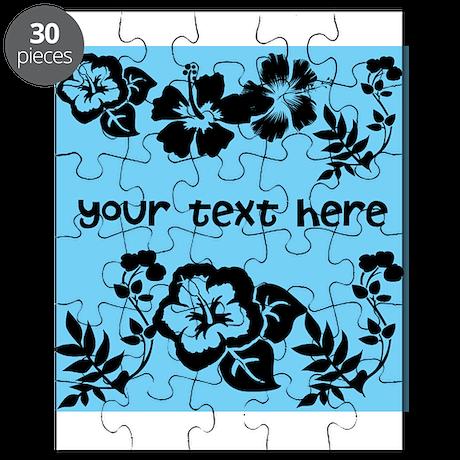 Floral Customizable Puzzle