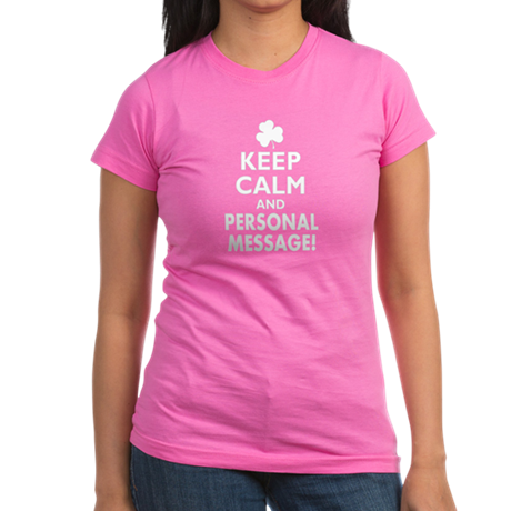 Personalized Irish Keep Calm and Carry On Junior J