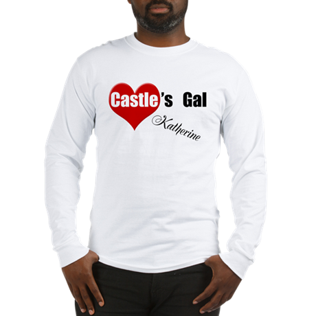 Personalizable Castle's Gal Long Sleeve T-Shirt