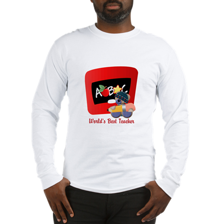 Teacher TeddyBear Long Sleeve T-Shirt