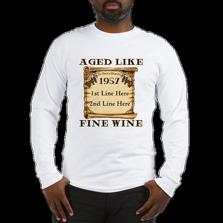 Fine Wine 1957 Long Sleeve T-Shirt