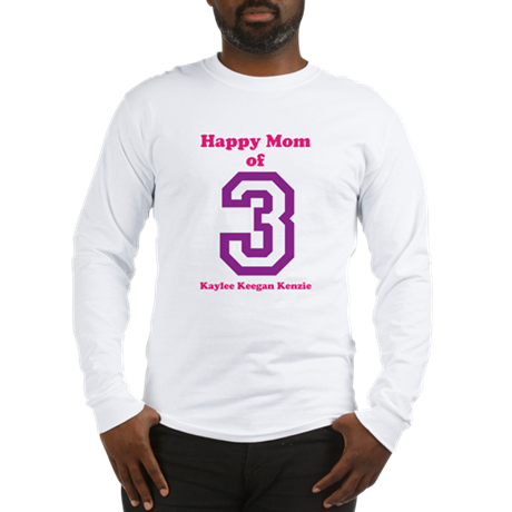 Personalized Mother Long Sleeve T-Shirt