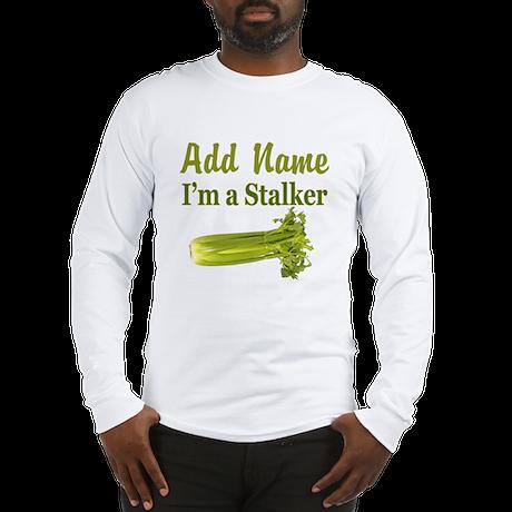 I LOVE CELERY Long Sleeve T-Shirt