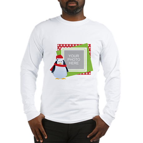 Personalized Christmas Long Sleeve T-Shirt
