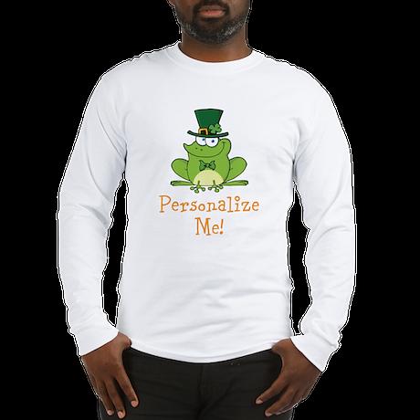 Leprechaun Frog Long Sleeve T-Shirt